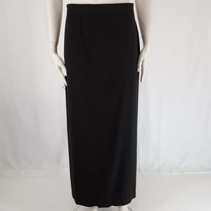 Jones & Co | Vintage Maxi Long Skirt Charcoal Gray